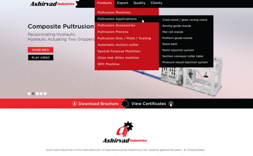 Ashirvad Industries Launches more imporved new website