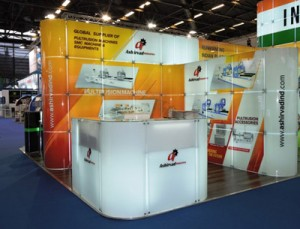 Ashirvad Industries Booth at JEC World 2018-1